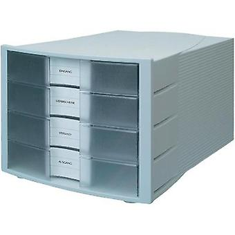 DRAWER BOX IMPULS LIGHT GREY CLEAR