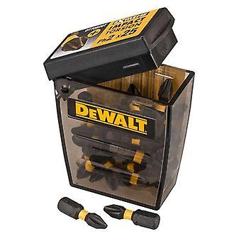 DeWALT DT70555T-QZ Ph2 25mm Torsion Tic Tac pakke med 25