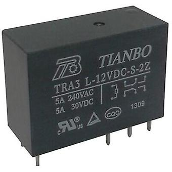 PCB relays 12 Vdc 8 A 2 change-overs Tianbo Electronics