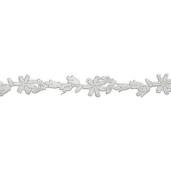 Floral Spray Bridal Venice Lace Trim 1
