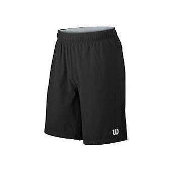 "Wilson Hybrid Stretch Woven Knit 9"" Shorts black Herren WRA730802"