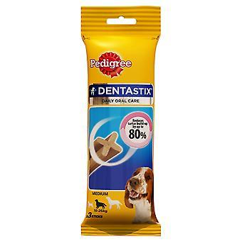 Stamtavla C & t Dentastix medelstor hund 10-25kg 3stk (förpackning med 18)