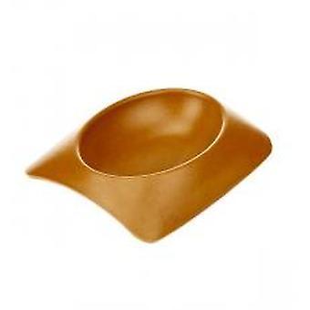 Earthy Pawz Bamboo Fibre Bowl Terracotta Medium (Pack of 6)