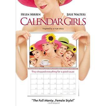 Kalender Girls [DVD] USA import
