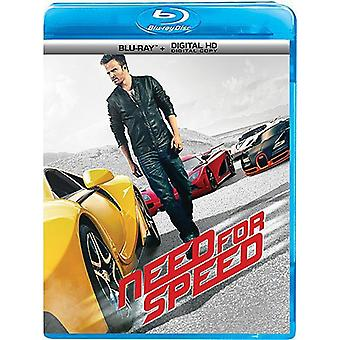 Need for Speed [BLU-RAY] USA import
