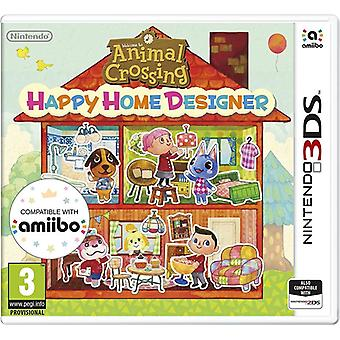 Animal Crossing Happy Home Designer 3DS Video Game