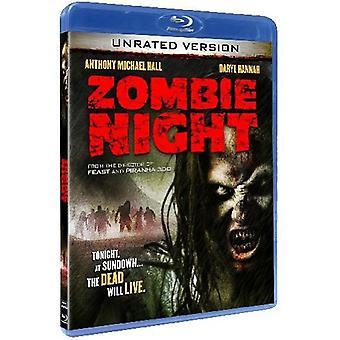 Zombie natten [BLU-RAY] USA import