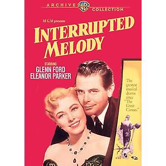 Interrupted Melody [DVD] USA import