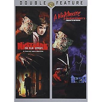 Nightmare on Elm Street 1 & 2 [DVD] USA import