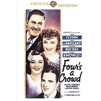 Four's a Crowd [DVD] USA import