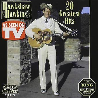 Hawkshaw Hawkins - 20 Greatest Hits CD] USA importerer