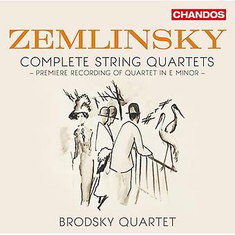 Zemlinsky / Brodsky Quartet - stråkkvartetter [CD] USA import