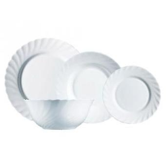 Luminarc Tableware 19 pieces Trianon White