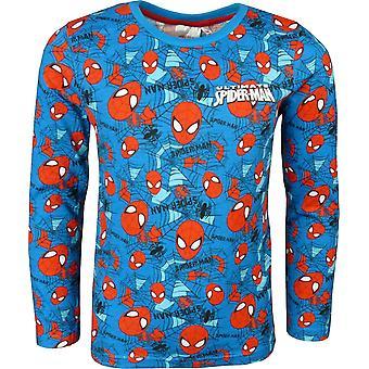 Мальчики Marvel Spiderman длинный рукав сверху