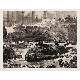 Edouard Manet - Civil War (Guerre civile) Poster Print Giclee