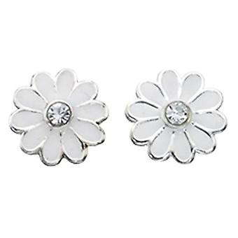 925 silver blomma örhänge