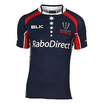 BLK Melbourne Rebels rugby replica home jersey  [Navy]