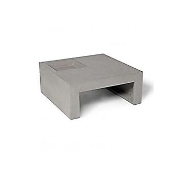 Lyon Beton Concrete Greeen Coffee Table - Square (70 x 70 x 30)