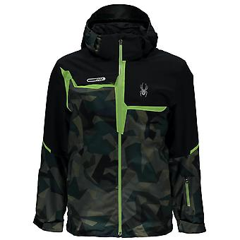 Spyder Zermatt QUEST men's ski jacket green camo
