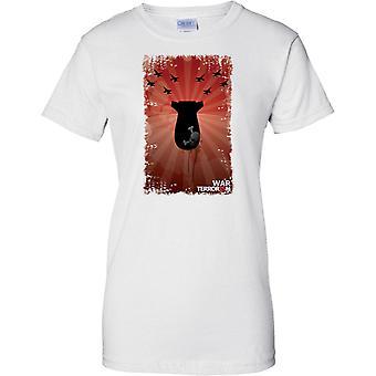 Krieg gegen den Terror Pop Art Design - Damen-T-Shirt