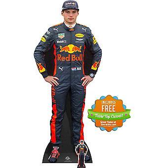 Max Verstappen Formel Eins Fahrer Karton Ausschnitt / AC