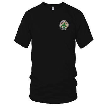 USAF pokoju piekło bomba Hanoi b-52 - szyte wojny wietnamskiej naszywka - męskie T Shirt