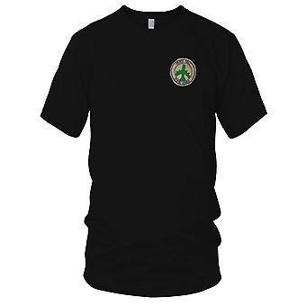 USAF Frieden Hölle Bombe Hanoi b-52 - handgenäht Vietnamkrieg gestickt Patch - Herren-T-Shirt