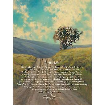 Levande liv affisch Skriv av Bonnie Mohr (18 x 24)