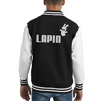 Lapin Rayman Raving Rabbids Kid's Varsity Jacket