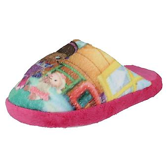 Girls Disney DOC McStuffins Slippers  D93641