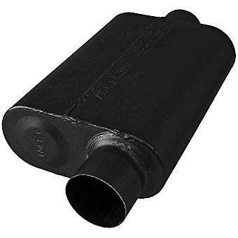 Flowmaster 843046 Super 44 Series Muffler 409S - 3.00 Offset IN/3.00 Center OUT - Aggressive Sound