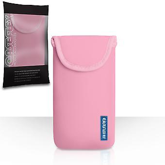 Caseflex néoprène Pouch - Baby Pink (M)