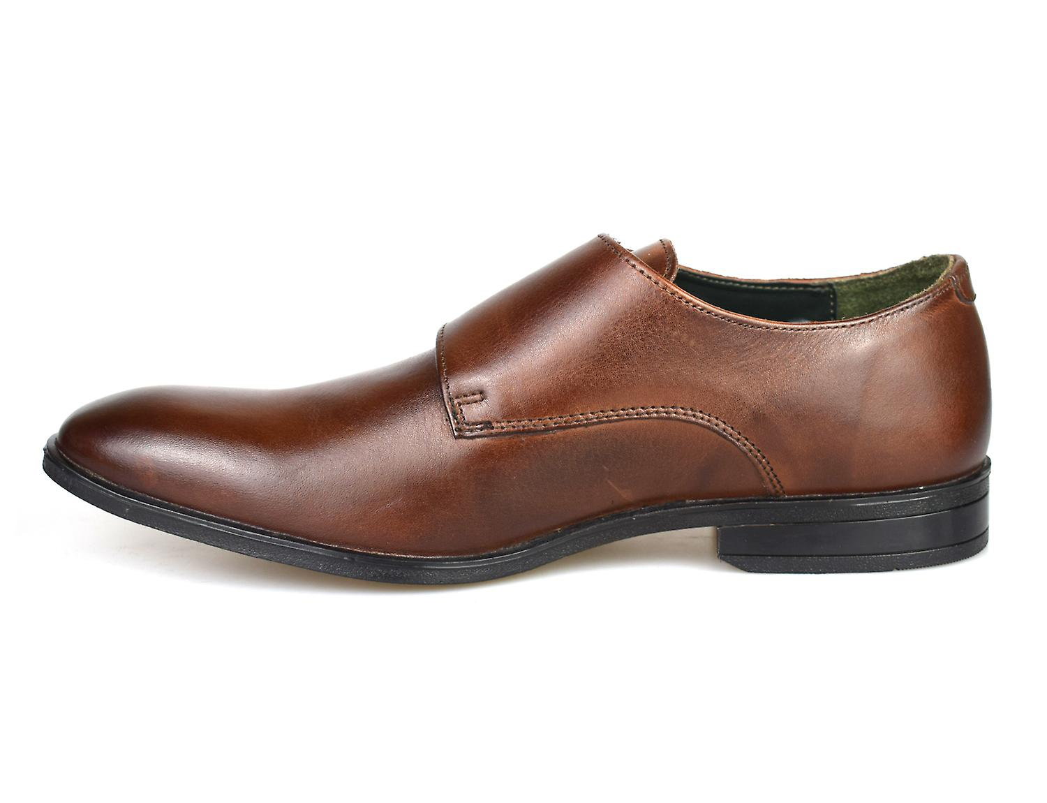 Silver Monk Formal Shoes Street Leather London Brown Bourne F4wn8PqFv