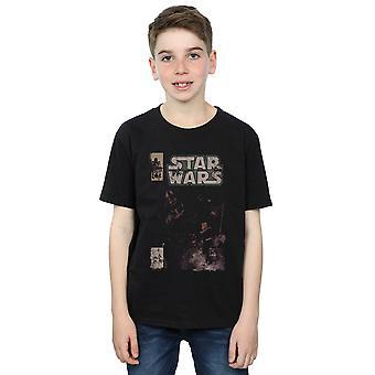 Star Wars Boys Darth Vader Duel Comic T-Shirt
