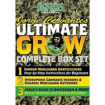High Times - ultimative wachsen komplette Box-Set mit Jorge Cervantes [DVD] USA import