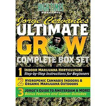 High Times - ultimative vokse komplet Box sæt med Jorge Cervante [DVD] USA import