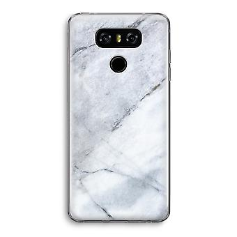 LG G6 Transparent Case - Marble white