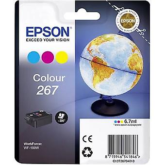 Epson Ink T2670, 267 Original Cyan, Magenta, Yellow C13T26704010