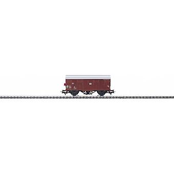 Märklin Start up 4411 H0 covered goods wagon Gs-uv 213 with illuminated tail light.
