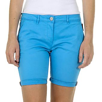Andrew Charles Womens Shorts Light Blue Safia