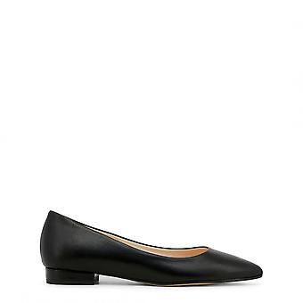 Made in Italy Ballerinas Black SEA-MARE-leather Woman