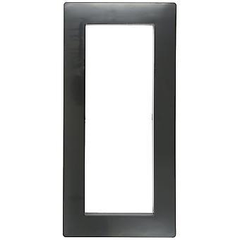 Hayward SP1085FBLK Skimmer Snap on Face Plate Cover - Black