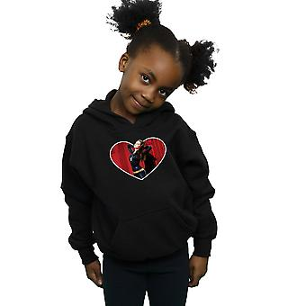 DC Comics Girls Batman TV Series Catwoman Heart Hoodie