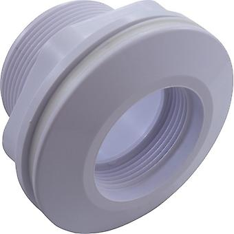 Pentair 542411 con rosca y casquillo de montaje de fibra de vidrio cuerpo largo retorno de piscina/Spa