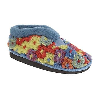 Sleepers Womens/Ladies Kasey Thermal Knitted Bootee Slippers