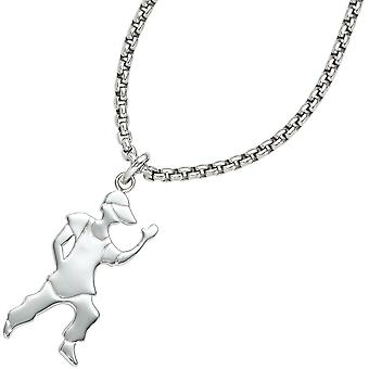 925 sterling silver rhodium pendants young boy