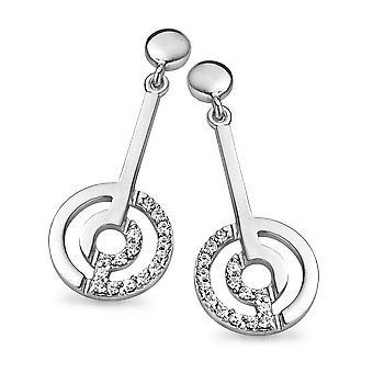 Orphelia Silber 925 Drop Ohrringe runden Zirkon ZO-5078
