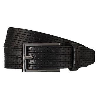 Strellson belts men's belts leather belt black 5944