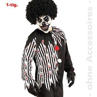 Horror clown costume mens horror clown Halloween mens costume