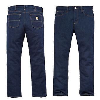 Carhartt Мужские джинсовые надежная Flex прямая коническая